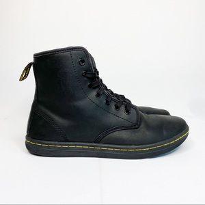 Dr. Martens Shoreditch Leather Boots Black Size 8